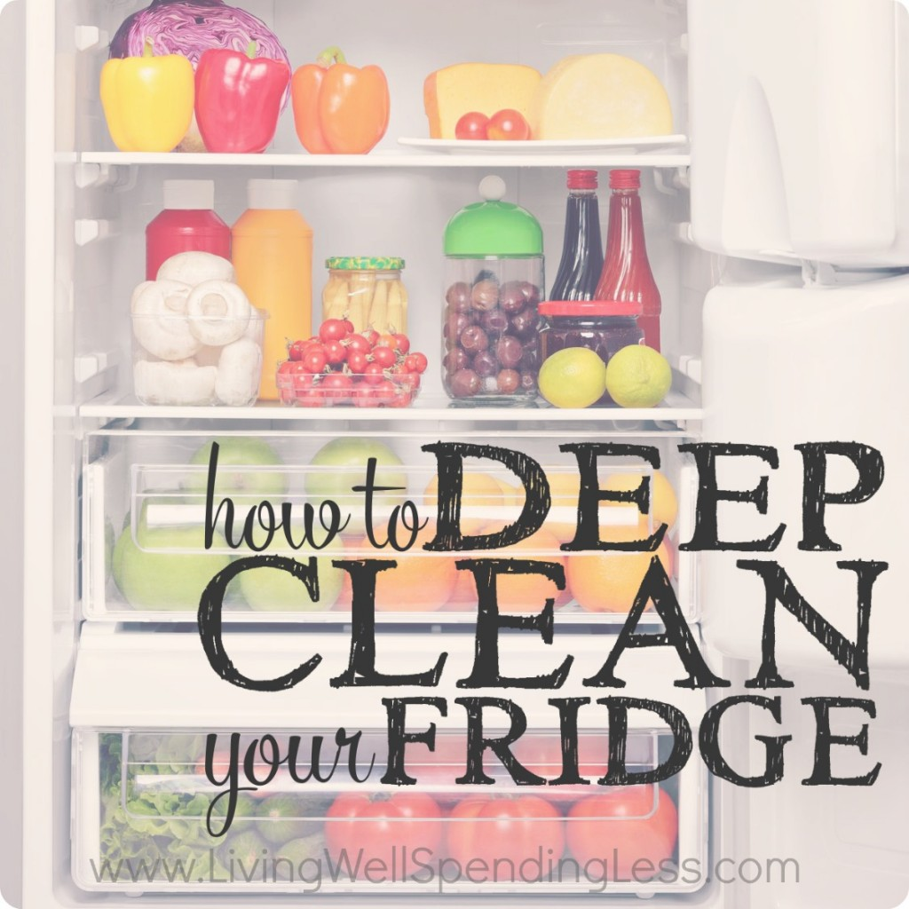 How to Deep Clean Your Fridge Square