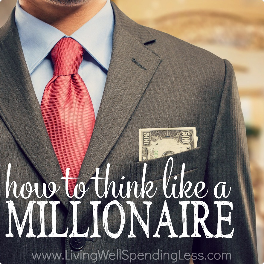 Living Rich On Lessliving Rich On Less: How To Think Like A Millionaire