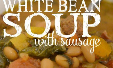 Kale & White Bean Soup with Sausage