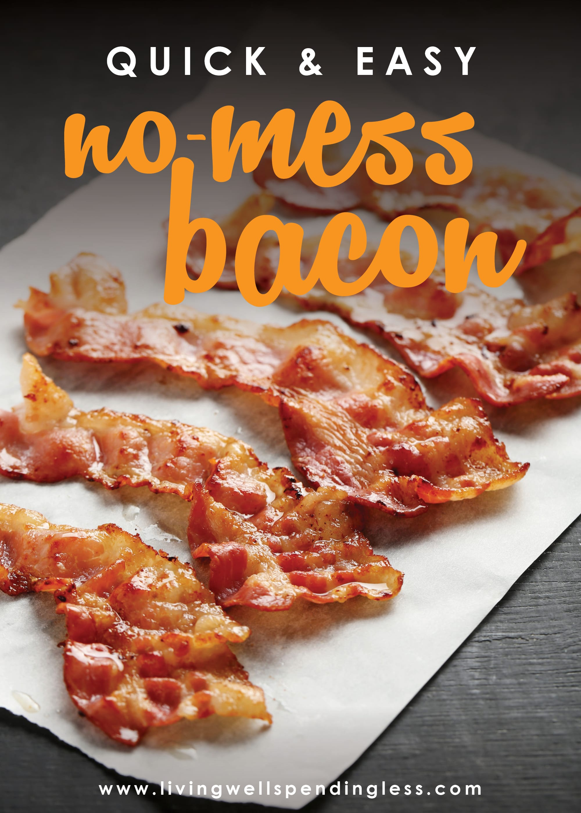 Ever avoided bacon because you hate dealing with the grease? Don't miss these simple instructions for cooking perfect no-mess bacon every single time!