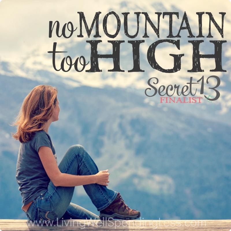 No Mountain too High Square