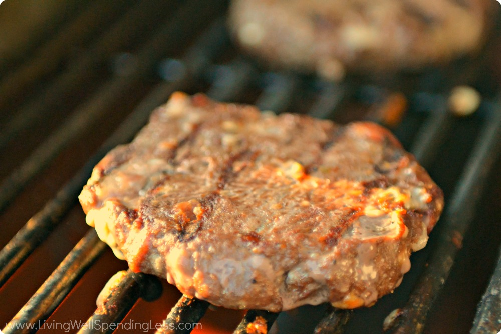 When ready to cook, just grill the frozen burger patties until done!