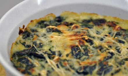 Creamed Kale & Spinach Casserole