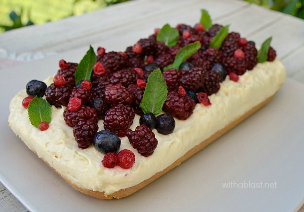 Easy Berry Cheesecake No Bake