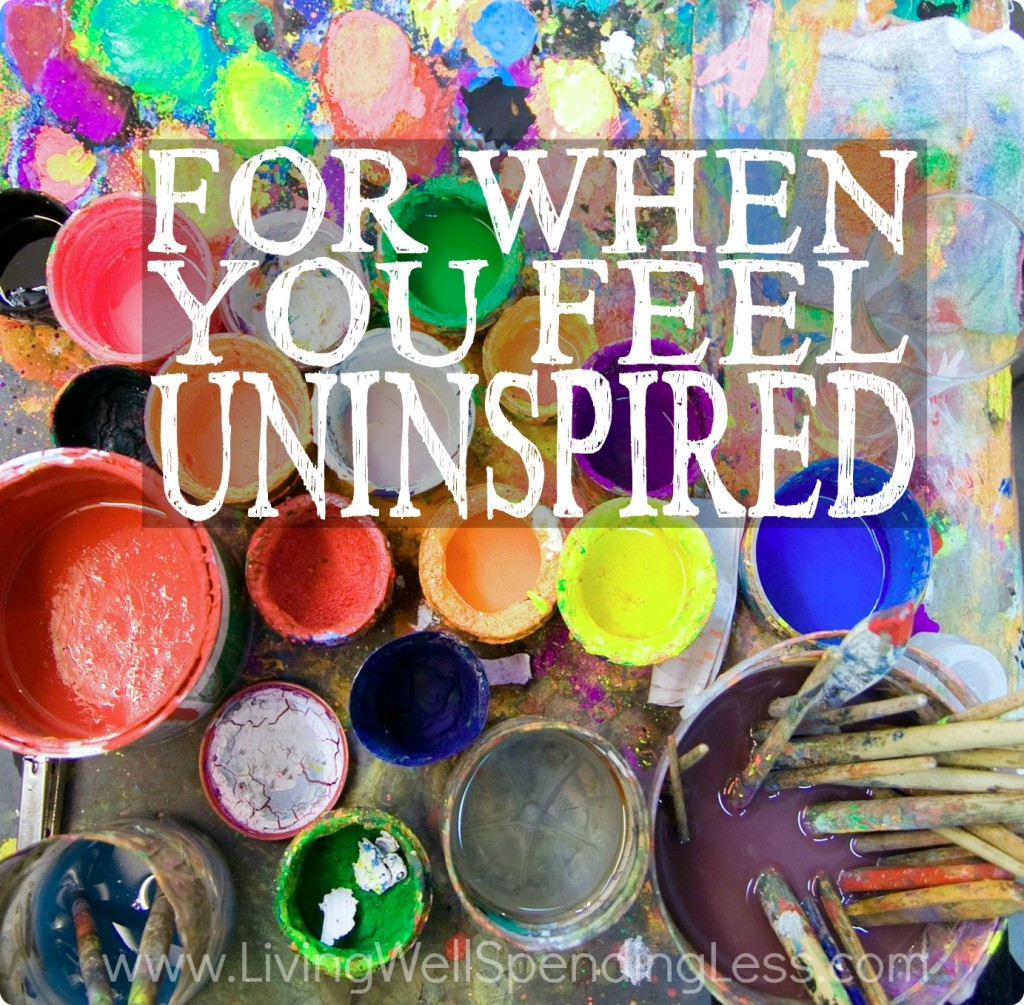When You Feel Uninspired | Faith & Inspiration | Time Management | Self Improvement