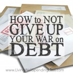 How to Not Give Up Your War on Debt Square 2