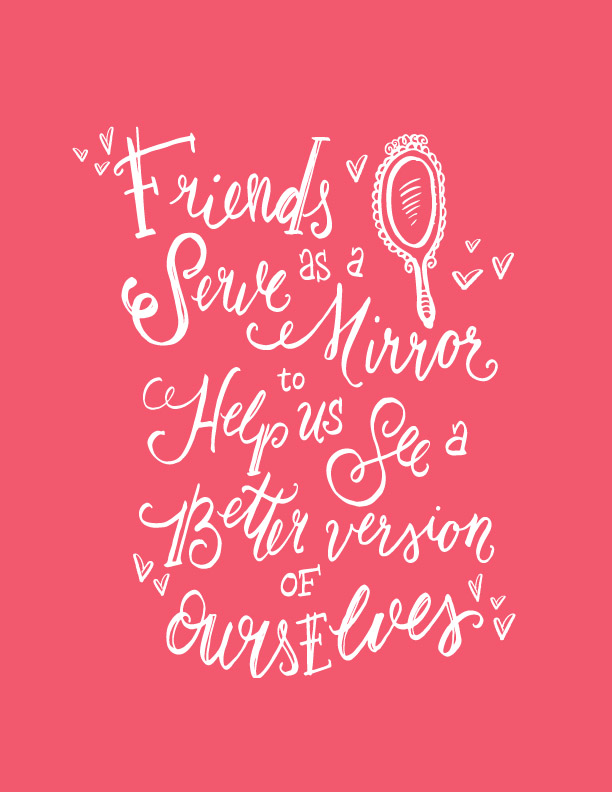 qualities in a friend A high-quality best friend is hard to find, but they're out there, and we can help you identify them among your inner circle.