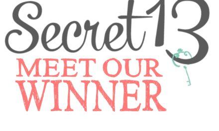 Meet our Secret 13 Essay Contest Winner!