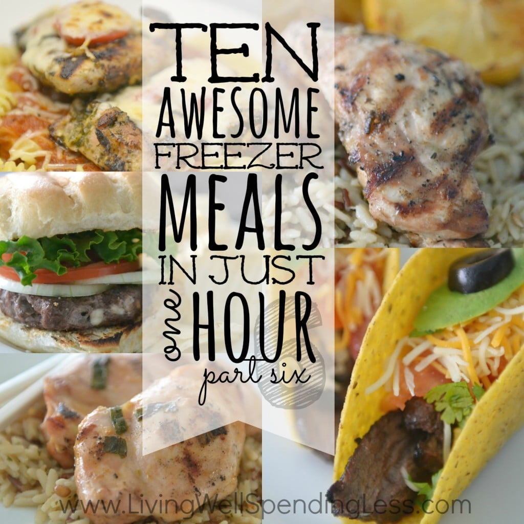 10 Freezer Meals in One Hour: Part 6