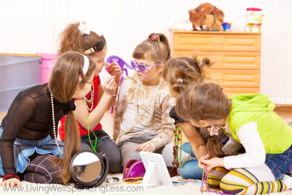 Whether it's dressing up or playing pretend, kids need plenty of social time with friends.
