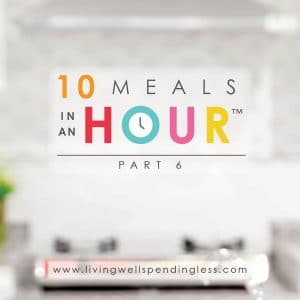 10 Meals in an Hour part 6 | Freezer Cooking | Freezer Meals | Meal Planning | Food Made Simple