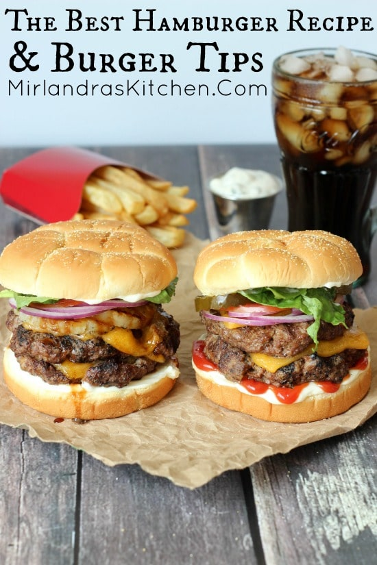 These cheeseburgers served with fries and ice cold coke look tasty.