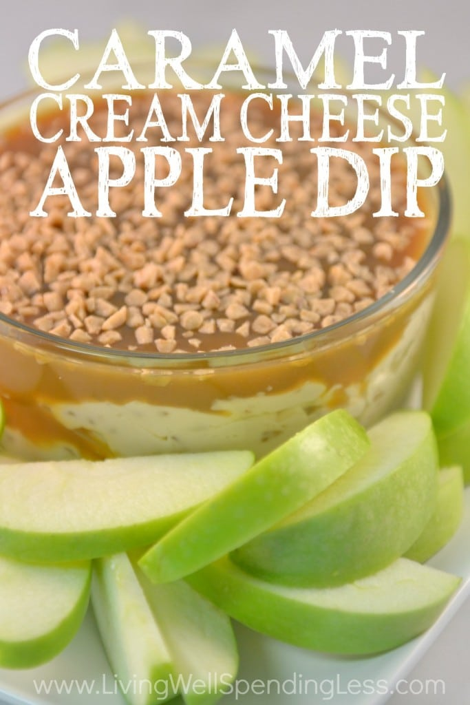 Easy Caramel Cream Cheese Apple Dip Recipe | How to Make ...