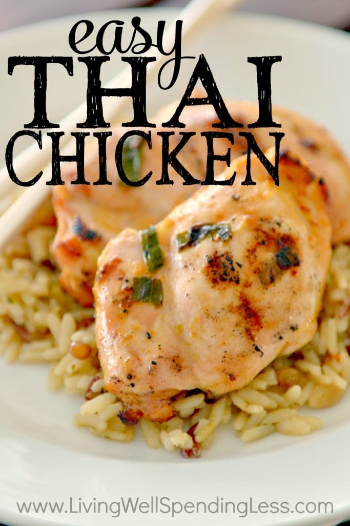 Easy And Freezer Friendly Thai Chicken Recipe