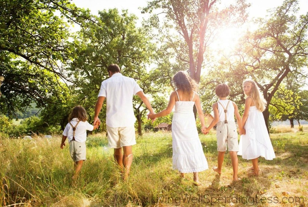 Your family might not always look perfect (dressed in white, holding hands on a forest trail) but they're perfect for you. Help foster a strong connection with your kids.