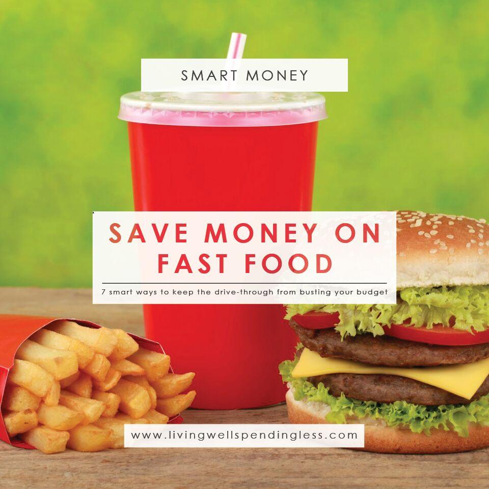 7 Ways to Save on Fast Food | Money Saving Tips | Food Savings | Smart Money Tips | Fast Food Hacks