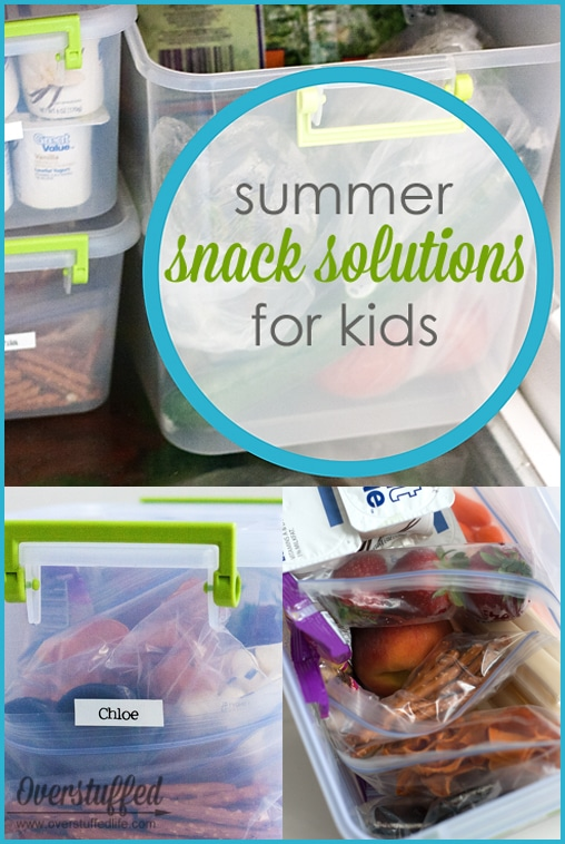 These summer snack solutions for kids will help you meal prep.