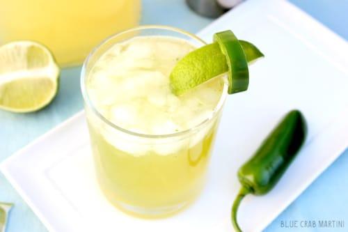 Fuego Verde Cocktail
