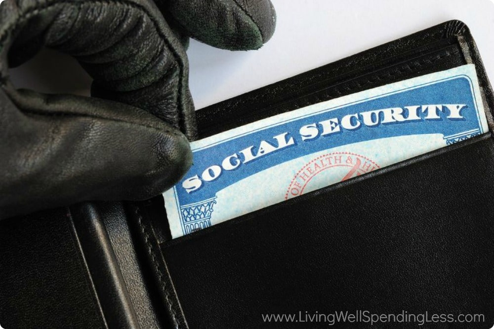 Your insurance plans should cover theft protection.