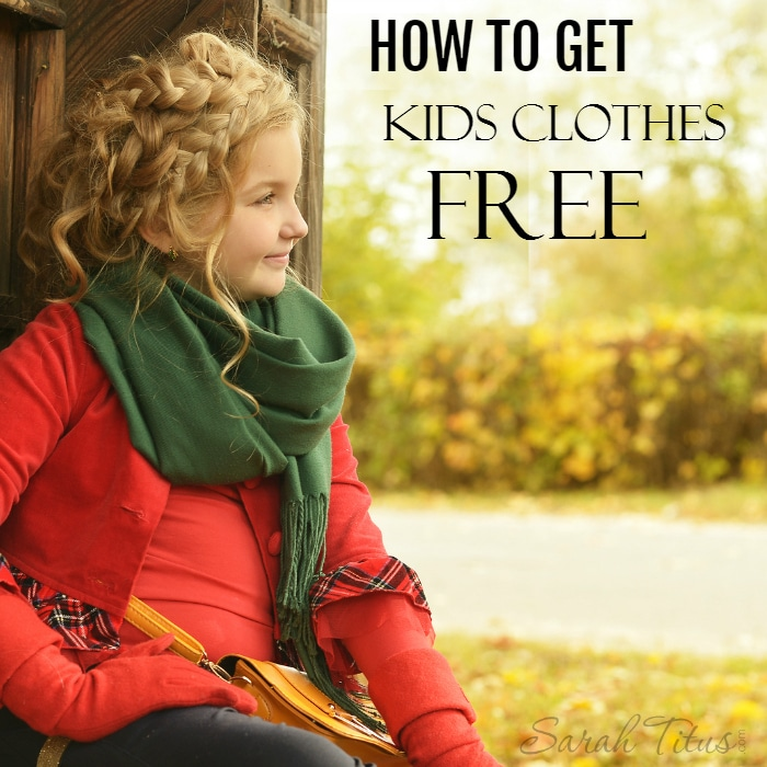 Use this resource to get kids clothes for free.