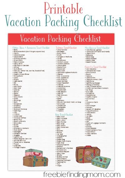 freeprintablevacationpackingchecklist