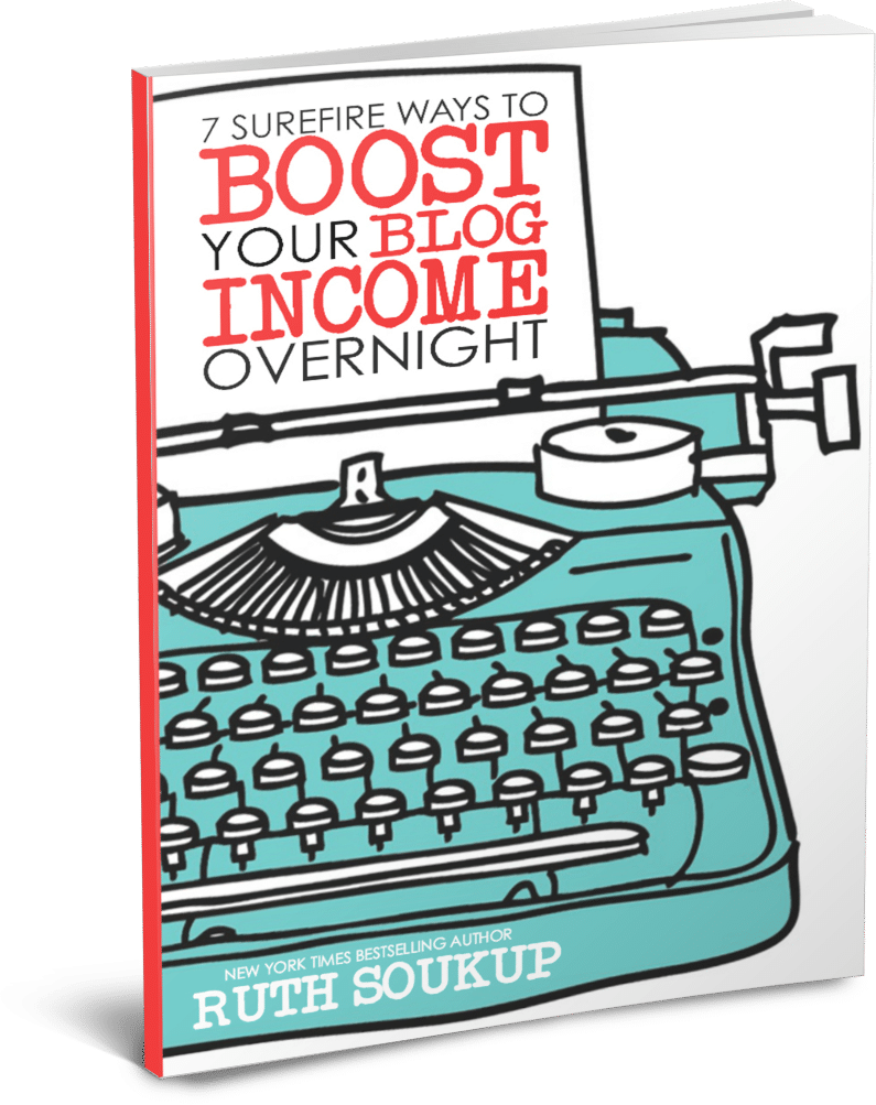 Sign up for this free eBook to learn more about making money from your blog.