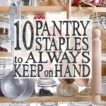 10 Pantry Staples to Always Keep on Hand Square 2
