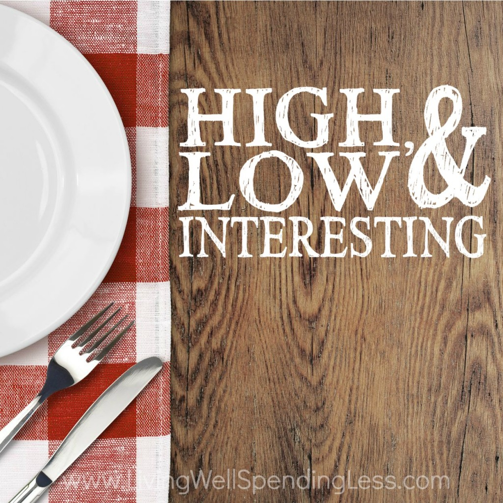 High Low & Interesting Square 3