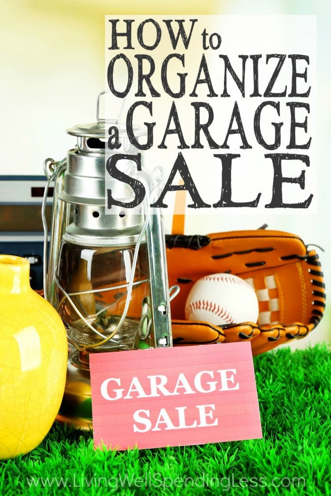 how to organize a garage sale how to host a successful garage sale. Black Bedroom Furniture Sets. Home Design Ideas