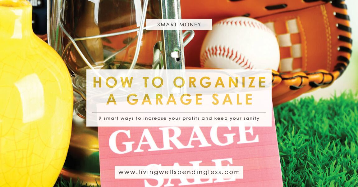 How To Make A Craigslist Account >> How to Organize a Garage Sale | How to Host a Successful ...