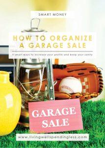 Organize a Garage Sale | Successful Garage Sale Tricks | Yard Sale Ideas | Garage Sale Tips | Tips for Pricing Items | Garage Sale Checklist