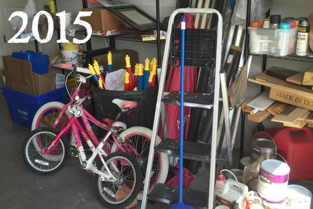 A messy garage can be a huge source of stress, but what do you do with all the extra items you need to store?