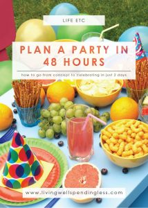 How to Plan a Party in 48 Hours | Holidays & Special Occasions | Party Planning | Idea Tips and Tricks
