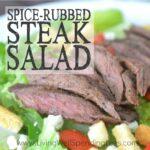 Spice Rubbed Steak Salad Square