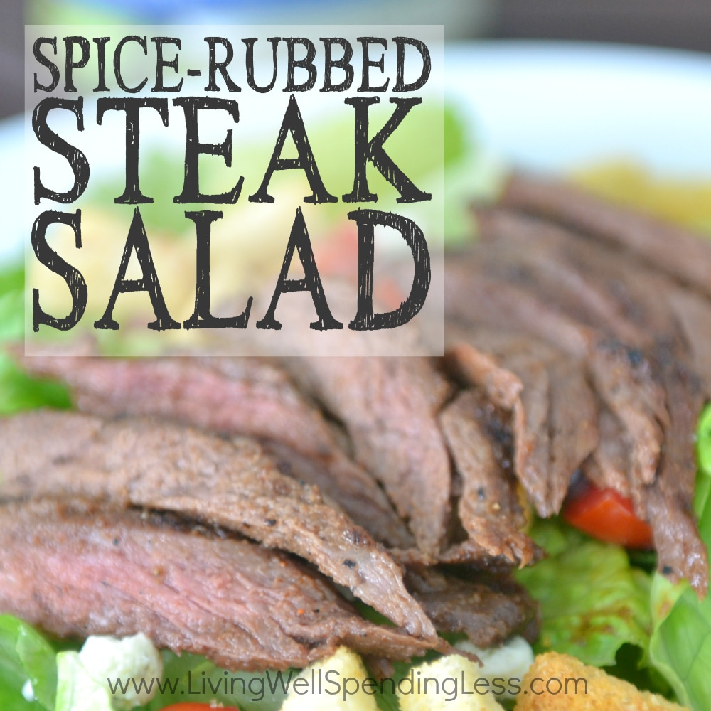 Spice Rubbed Steak Salad Square 2