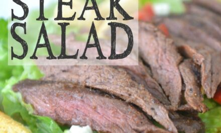Spice Rubbed Steak Salad