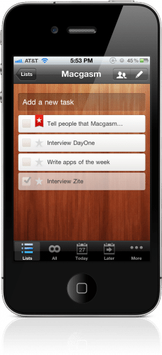 Use a task managing program to help you keep track of your to do list.