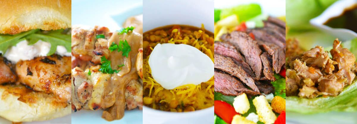 10 Meals in An Hour Series - 5 delicious entrees prepped and ready for cooking in one hour