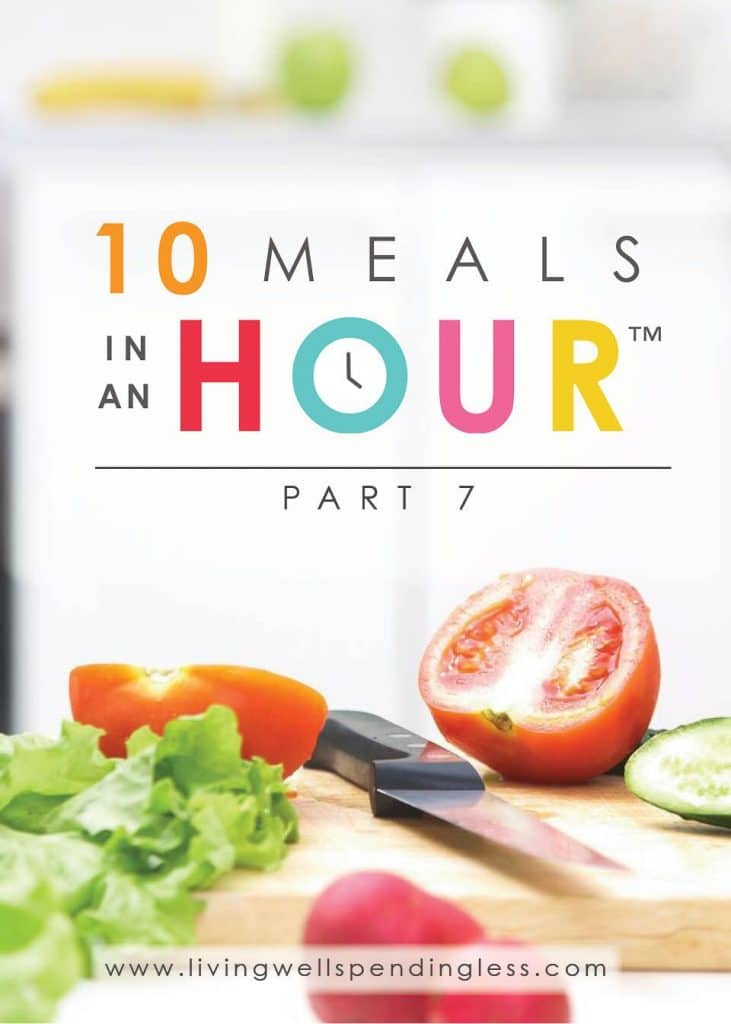 10 Meals in an Hour™ Part 7   Easy Freezer Cooking Meal Plan   Food Made Simple   Freezer Cooking