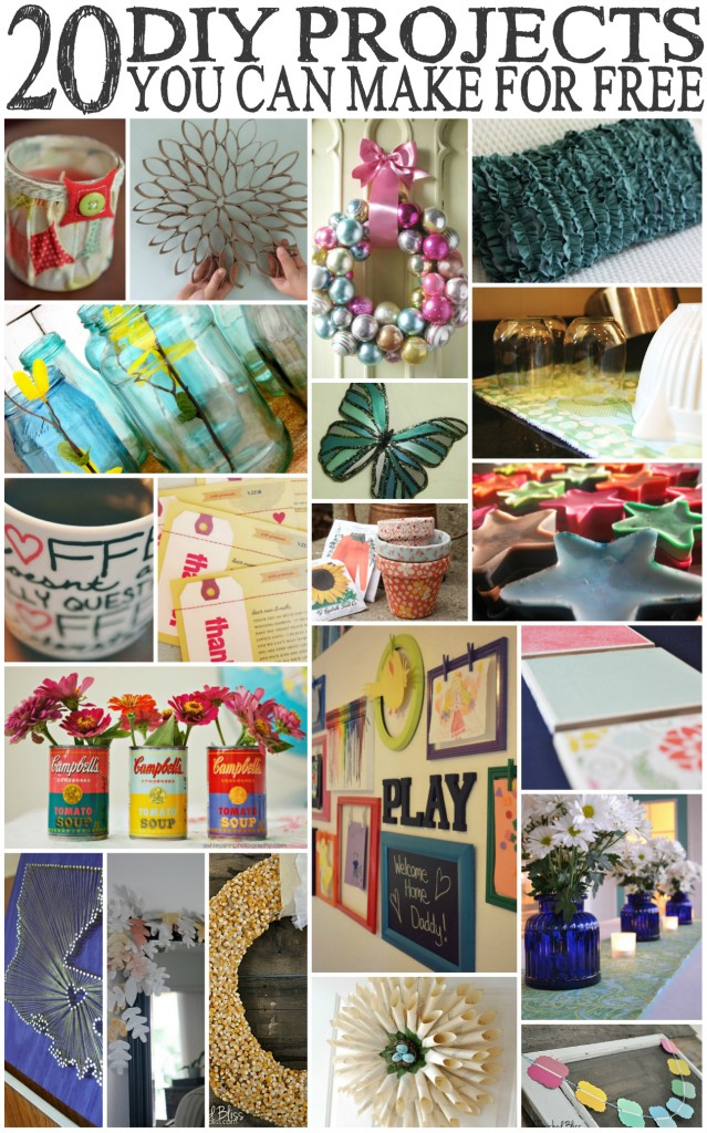 Get Fearlessly Crafty | 31 Days of Living Well & Spending Zero | Free DIY Projects