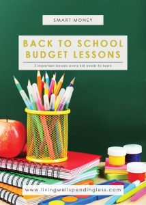 3 Back to School Budget Lessons Every Kid Needs to Learn | School Shopping | Smart Money Tips | Back to School