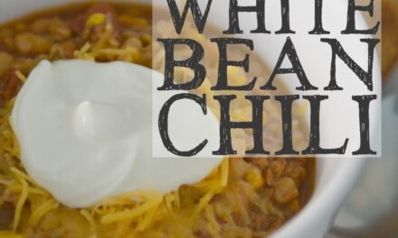 Easy White Bean Chili