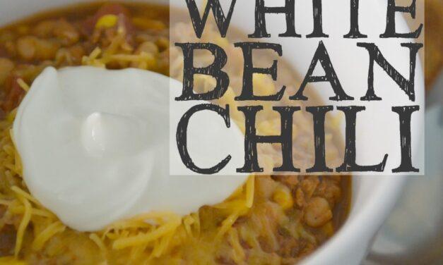 Easy White Bean Chili