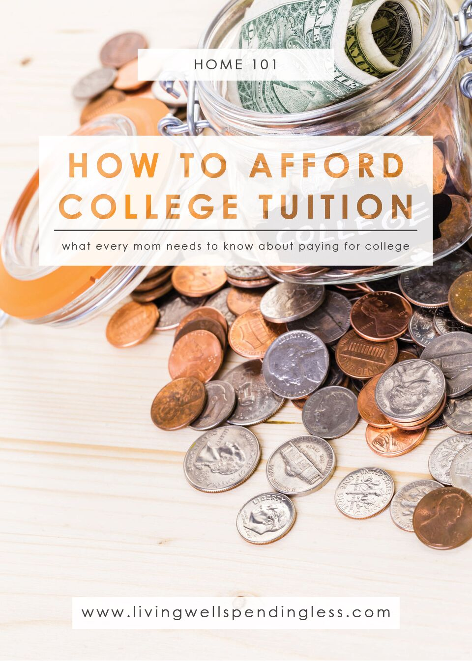 How to afford college tuition.