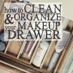 How to Clean & Organize Your Makeup Drawer Square