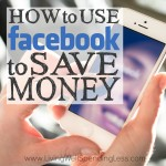 How to Use Facebook to Save Money Square 1