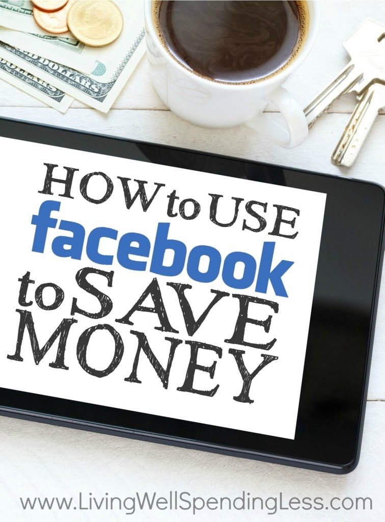 How to Use Facebook to Save Money Vertical