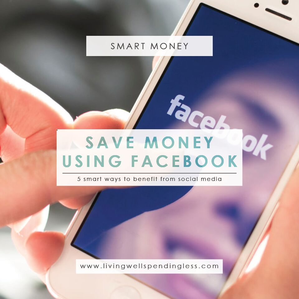 How to Use Facebook to Save Money | Saving Money with Social Media
