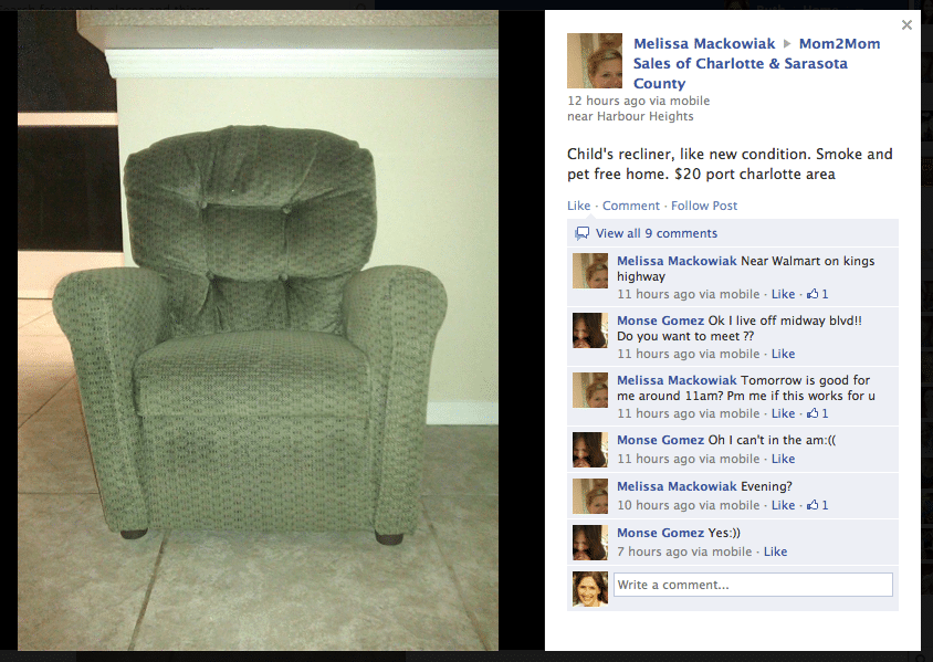 Sell Your Stuff on Facebook