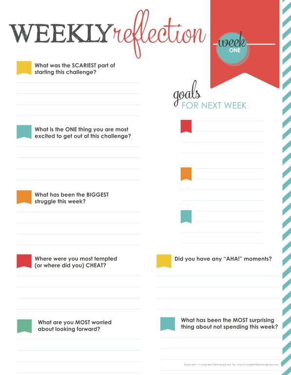 31 days LWSZ week one reflection